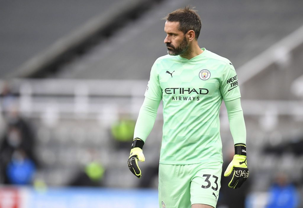 Manchester City are set to feature third goalkeeper Scott Carson