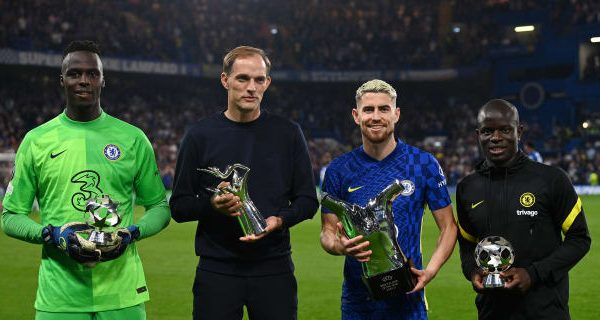 Chelsea receives the best European award before the game